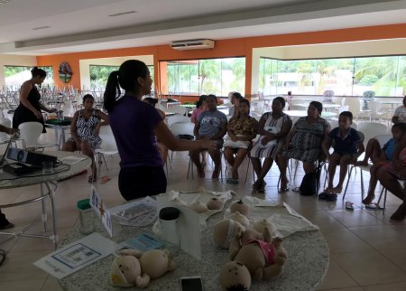 Participação das Doutoras do Peito no SESC Balneário